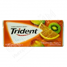 Trident Gum Tropical Twist, США