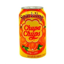 Chupa-Chups Sparkling Orange, 0.345л, Южная Корея