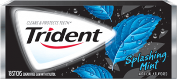 Trident Splashing Mint, США