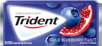 Trident Blueberry Twist, США