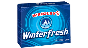 Wrigley's Gum Winter Frash, США