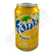 Fanta Mango, 0.355л, США
