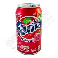 Fanta Strawberry, 0.355л, США