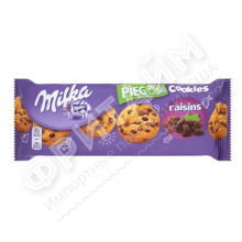 Milka Choco Cookies with Raisins, 135 гр, Германия