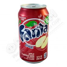 Fanta Apple, 0.355л, США