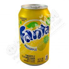 Fanta Pineapple, 0.355л, США