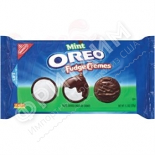 Oreo Fudge Cremes Mint, 320 гр
