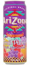 Arizona Fruit Punch (Фруктовый Пунш), 0.340л, США