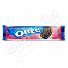 Oreo Strawberry Cream, 137 гр, Индонезия