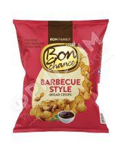 Xлебные чипсы «Bon chance», cо вкусом  барбекю, 60 гр.