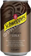 Schweppes Cola, 0.330л, Польша