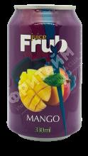 FRUB mango (манго), 0.330л, Вьетнам