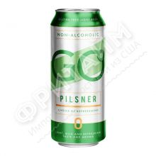 Пиво Svyturys GO Pilsner (Швитурис Гоу Пилснер б/а) алк 0.5% 0.5 банка