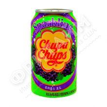 Chupa-Chups Sparkling Grape, 0.345л, Южная Корея