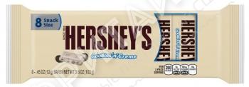 Белый шоколад с печеньем Hershey's, 102гр, США