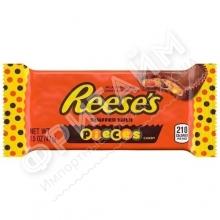 Шоколадные тарталетки с арахисовой пастой и драже Hershey's Reese's, 42гр (2 шт.), США