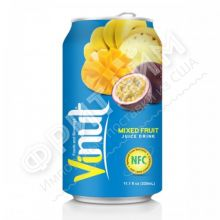 VINUT Mixet fruit  juiсe drink (Мультифруктовый) 0,33 л, Вьетнам