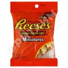 Шоколадные мини тарталетки с арахисовой пастой Hershey's Reese's, 150гр, США