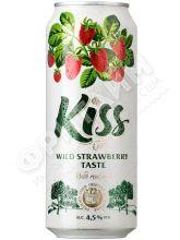 Cider Kiss Wild Strawberry (Сидр Кисс со вкусом Земляники) алк 4.5% 0.5 банка