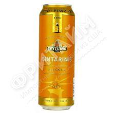 Пиво Svyturys Gintarinis (Швитурис Гинтаринис ) алк 4,6% 0.568 банка