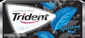 Trident Splashing Mint, США