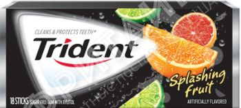 Trident Gum Splashing Fruit, США