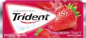 Trident Strawberry Twist, США