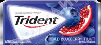 Trident Blueberry Twist, США