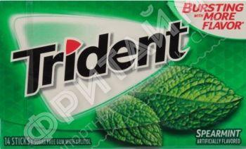Trident Gum Spearmint, США