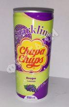 Chupa Chups Grape (Виноград), 0.25л, ж/б, Корея