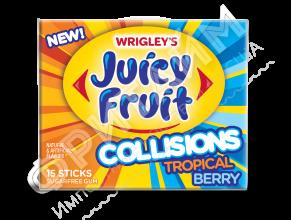 Wrigley's Gum Juicy Fruit Collisions Tropical Berry, США
