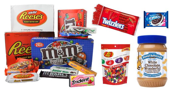 конфеты из америки интернет магазин
