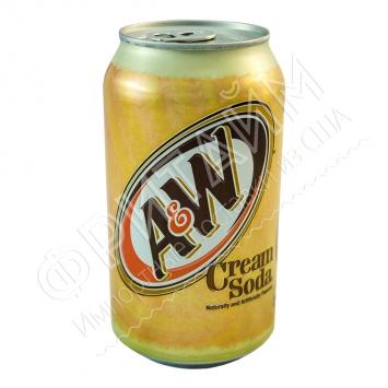 A&W Cream Soda, Крем сода 0.355l, США
