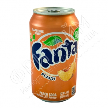 Fanta Peach, 0.355l, США