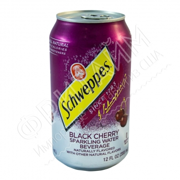 Schweppes Black Cherry, 0.355л, США