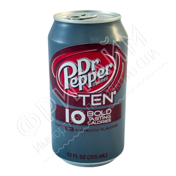 Dr. pepper TEN, 0355l, США