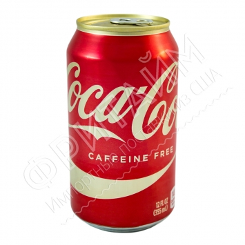 Coca-Cola Caffeine Free Natural, 0.355l, США