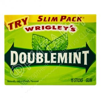 Жевательная резинка Wrigley Gum Doublemint Mint, США