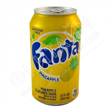 Fanta Pineapple, 0.355l, США