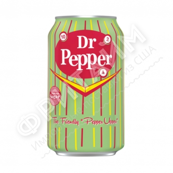 Dr Pepper Real Sugar, 0.355l, США