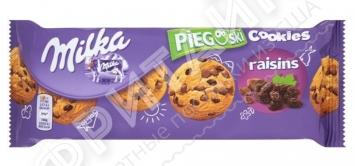 Milka Cookies Raisins, 135 гр, Германия