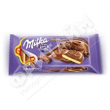 Milka Jaffa Delice Chocolate Mousse Cookies, 128 гр, Румыния