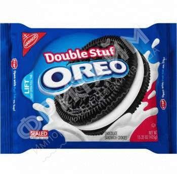 Oreo-Double Stuff Sandwich Cookies, 435 гр, США