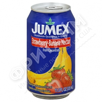 Jumex Strawberry-Banana Nectar, 0,335L, Мексика