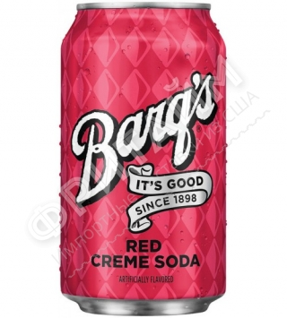 Bargs Red cream soda, 0.335l, США
