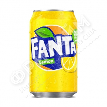 Fanta Lemon, 0355L, Дания