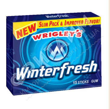 Wrigley's Winterfresh Gum Slim, США