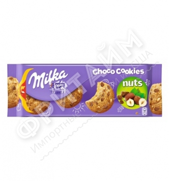 Milka Choco Cookies Nuts, 135 гр, Германия