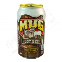MUG Root Beer, корневое пиво 0.355l, США