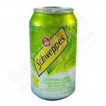 Schweppes Lemon and Lime, 0.355л, США